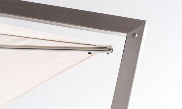 Stainless steel cantilever arm